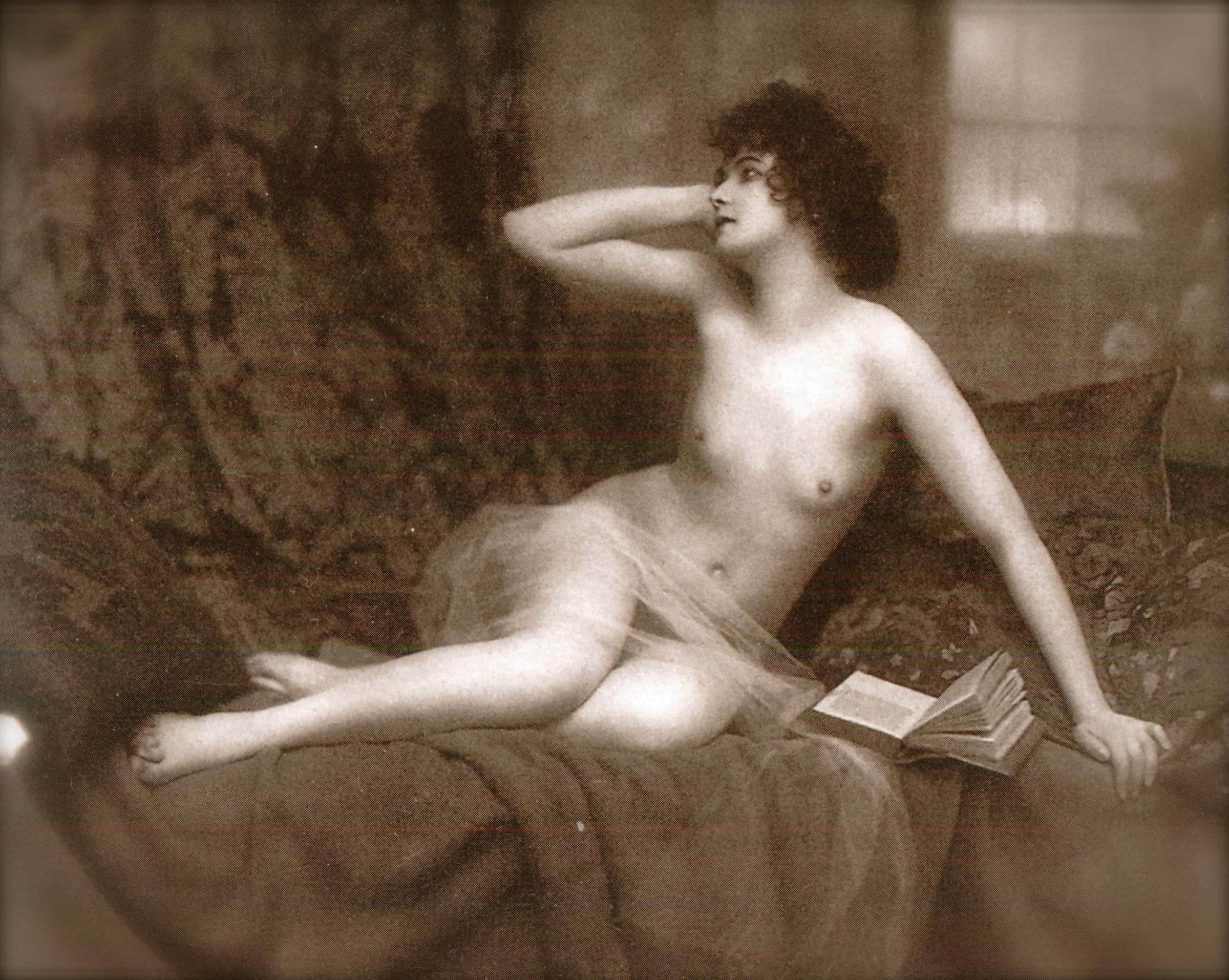 Старинные эротические картинки 10 фотография